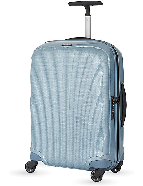 SAMSONITE: Cosmolite four-wheel cabin suitcase 55cm