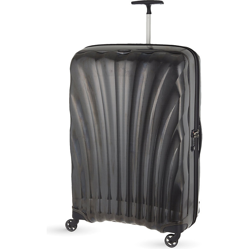 SAMSONITE | Samsonite Cosmolite Four-Wheel Suitcase 86cm, Black | Goxip