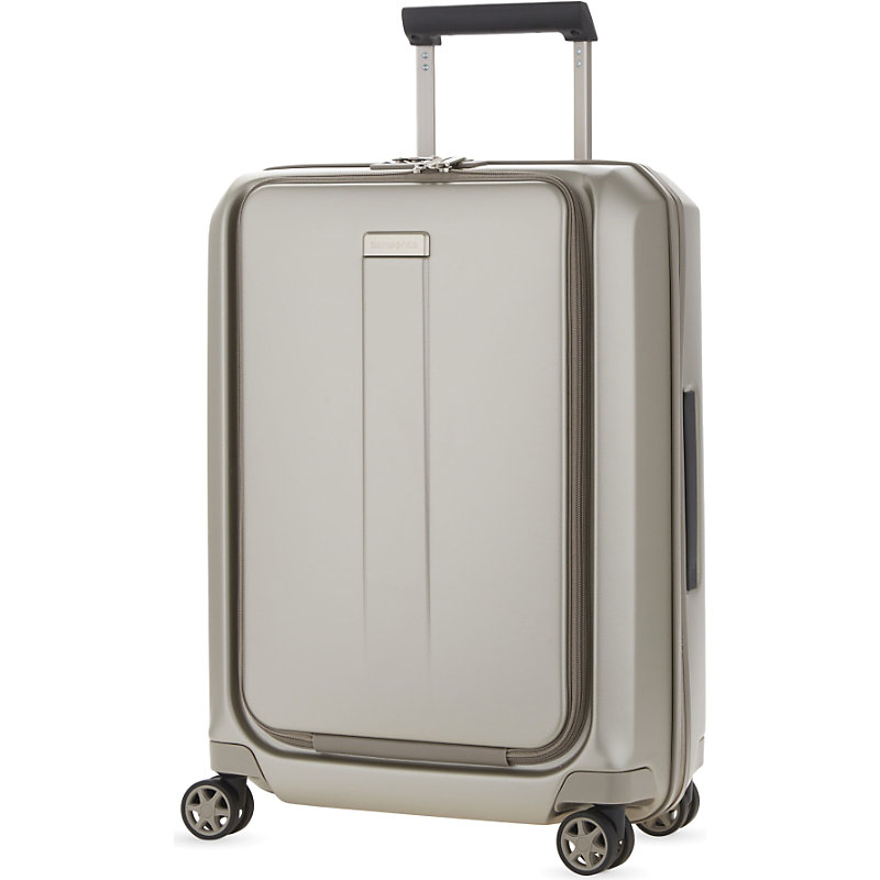 SAMSONITE | Samsonite Prodigy Four-Wheel Cabin Suitcase 55cm, Ivory Gold | Goxip