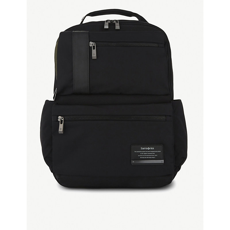 SAMSONITE | Samsonite Openroad Infinipak Nylon Backpack, Jet Black | Goxip