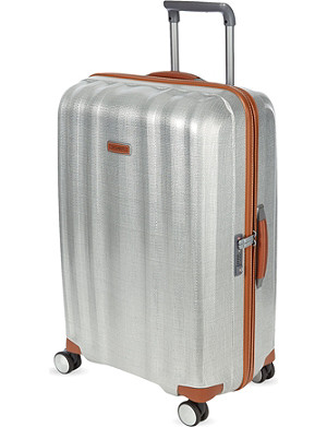SAMSONITE Lite-Cube Deluxe four-wheel spinner suitcase 82cm