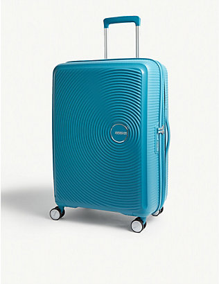 AMERICAN TOURISTER: Soundbox expandable four-wheel suitcase 67cm