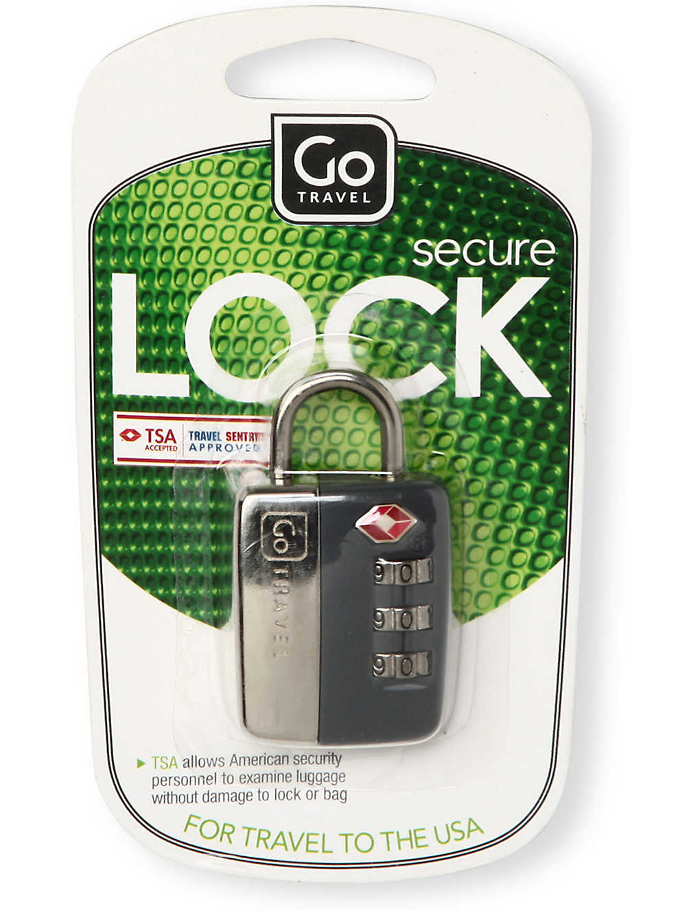 GO TRAVEL: Travel sentry secure lock