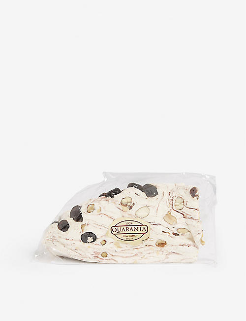 QUARANTA Sour cherry nougat 165 g