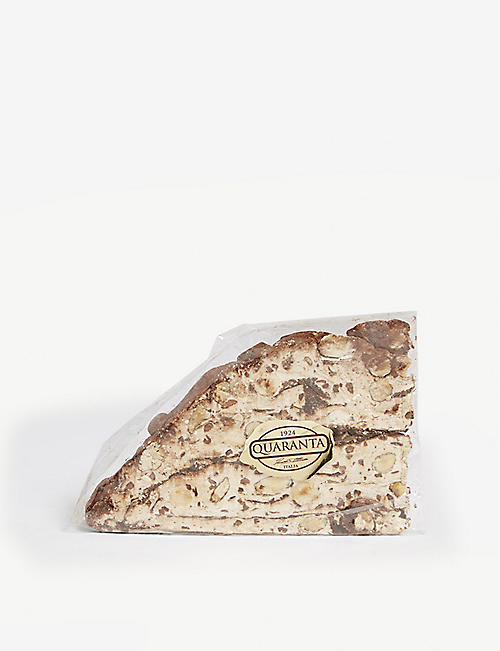 QUARANTA: Chocolate nougat slice 165 g