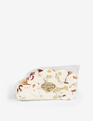 QUARANTA: Tropical fruit nougat slice 165g