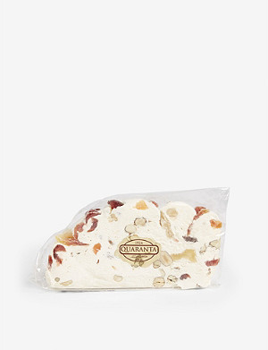 QUARANTA Tropical fruit nougat slice 165g