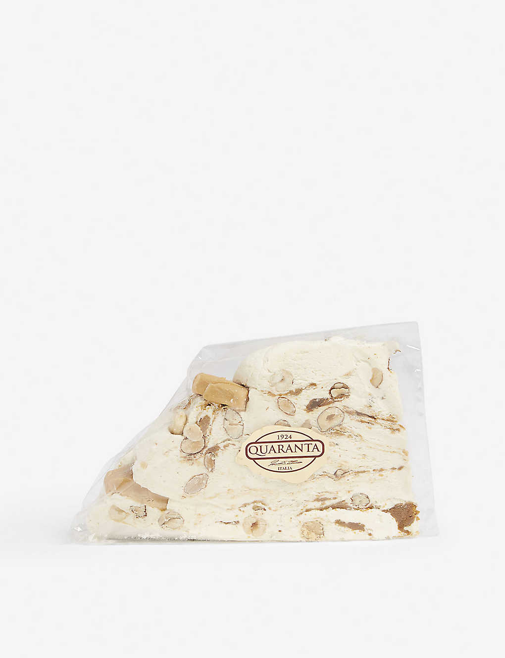 QUARANTA: French caramel nougat slice 165g