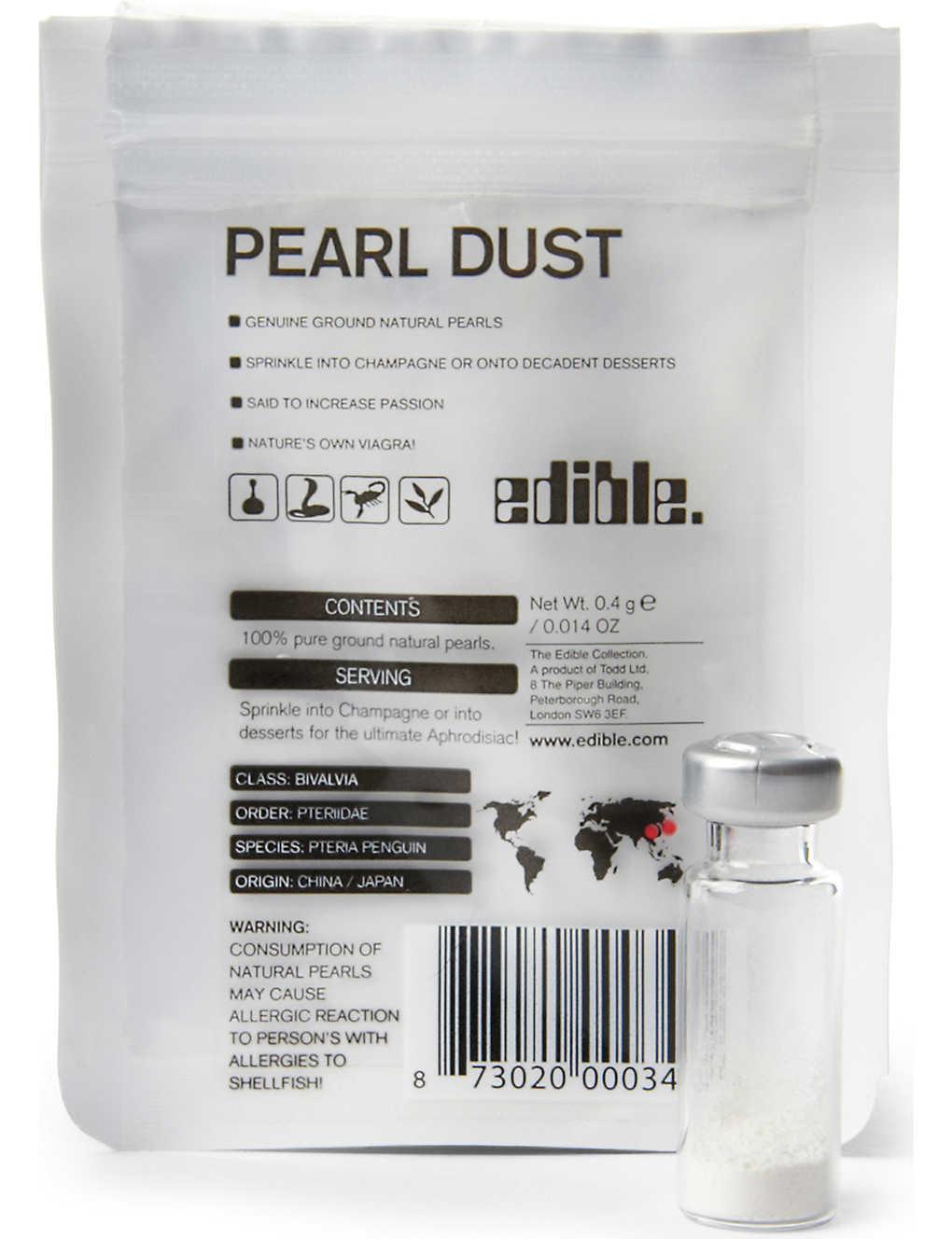 EDIBLE - Pearl Dust 0 4g   Selfridges com