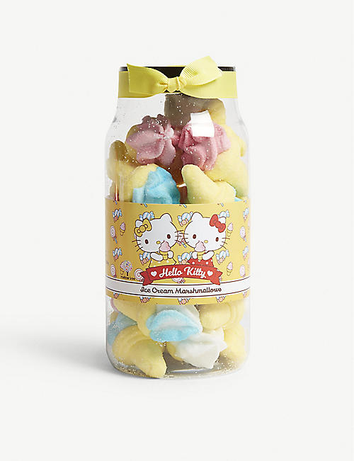 HELLO KITTY Ice cream marshmallows