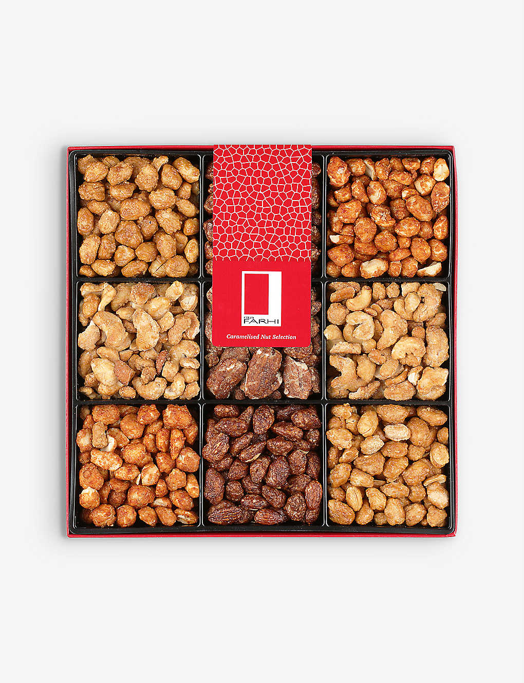 FARHI: Caramelised nut selection 800g