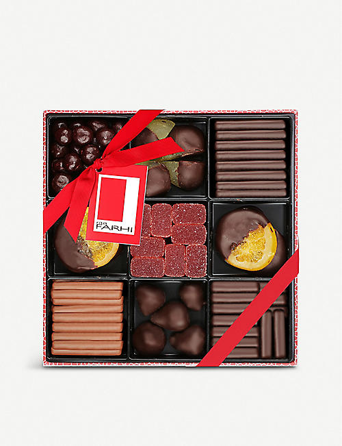 FARHI: Chocolate fruit selection 880g