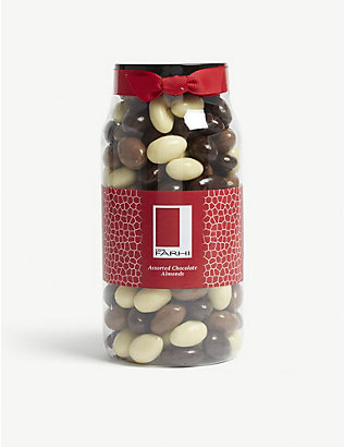 FARHI: Milk, white and chocolate almonds 770g