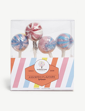 MALLOW TREE Assorted flavour lollipops eight-pack 200g
