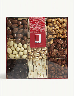 FARHI: Chocolate and caramelised nut selection box 1080g