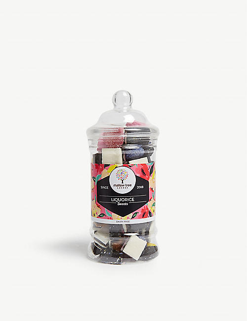 MALLOW TREE: Assorted liquorice jar 360g