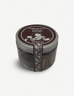 LA MOLINA: Gianduiotti milk salted gianduja 300g