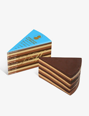 LA MOLINA Millestrati gianduja milk, white and dark chocolate 250g