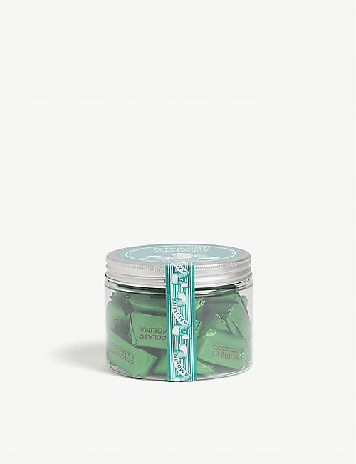 LA MOLINA: Gianduiotti pistachio chocolate jar 300g