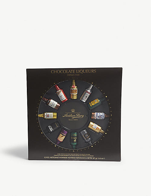 ANTHON BERG Chocolate liqueurs box of 12