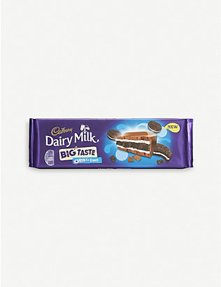 CADBURY: Big Taste Oreo crunch chocolate bar 300g