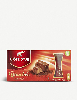 COTE D'OR Bouchée selection box of eight