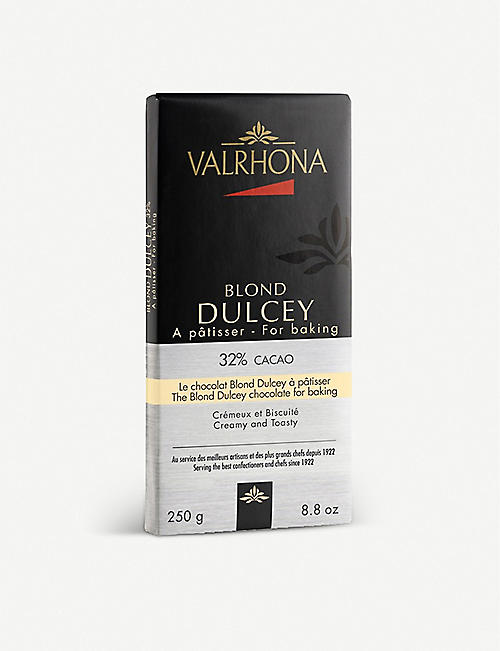 VALRHONA The Blond Dulcey baking chocolate 250g