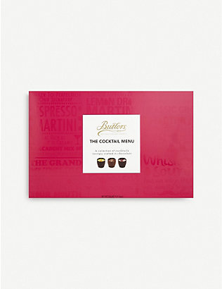 BUTLERS: The Cocktail Menu chocolate selection box of 16