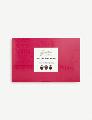 BUTLERS The Cocktail Menu chocolate selection box of 16