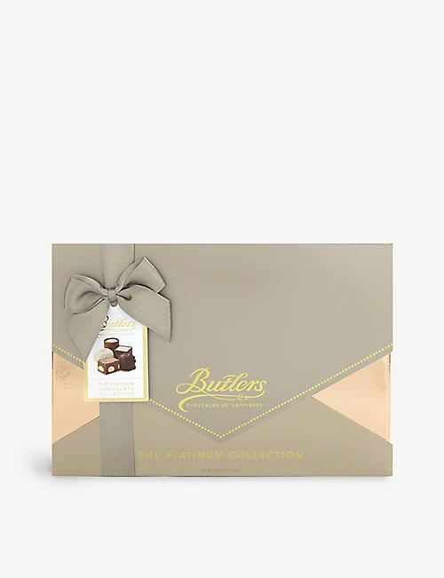 BUTLERS: The Platinum Collection assorted chocolates 210g