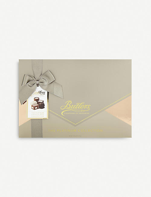 BUTLERS: The Platinum chocolate collection box of 15 410g