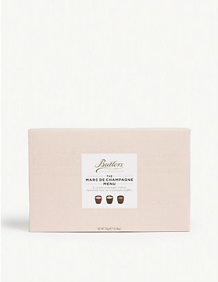 BUTLERS: Marc de Champagne chocolate truffles box of 8