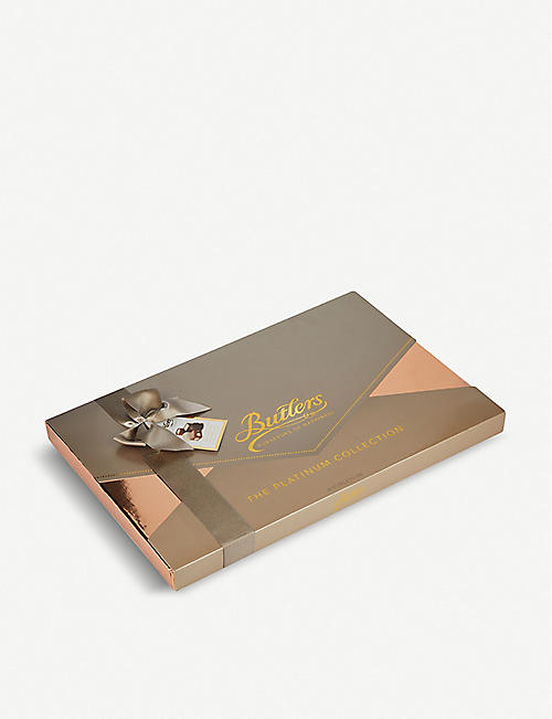 BUTLERS: Giant Platinum Collection box of chocolates 880g