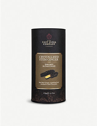THE EAST INDIA COMPANY: Dark chocolate ginger 175g