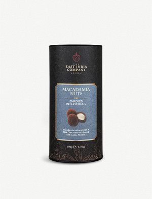 THE EAST INDIA COMPANY Milk chocolate macadamia nuts 200g
