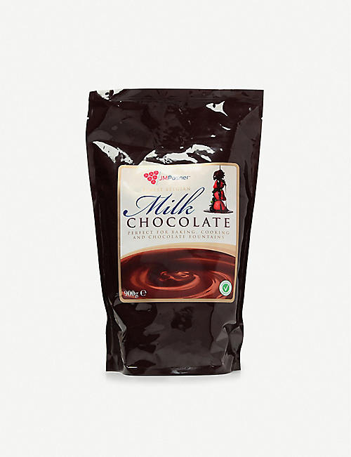 JM POSNER: Belgian milk chocolate 900g
