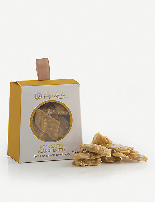 FUDGE KITCHEN: Peanut brittle 125g