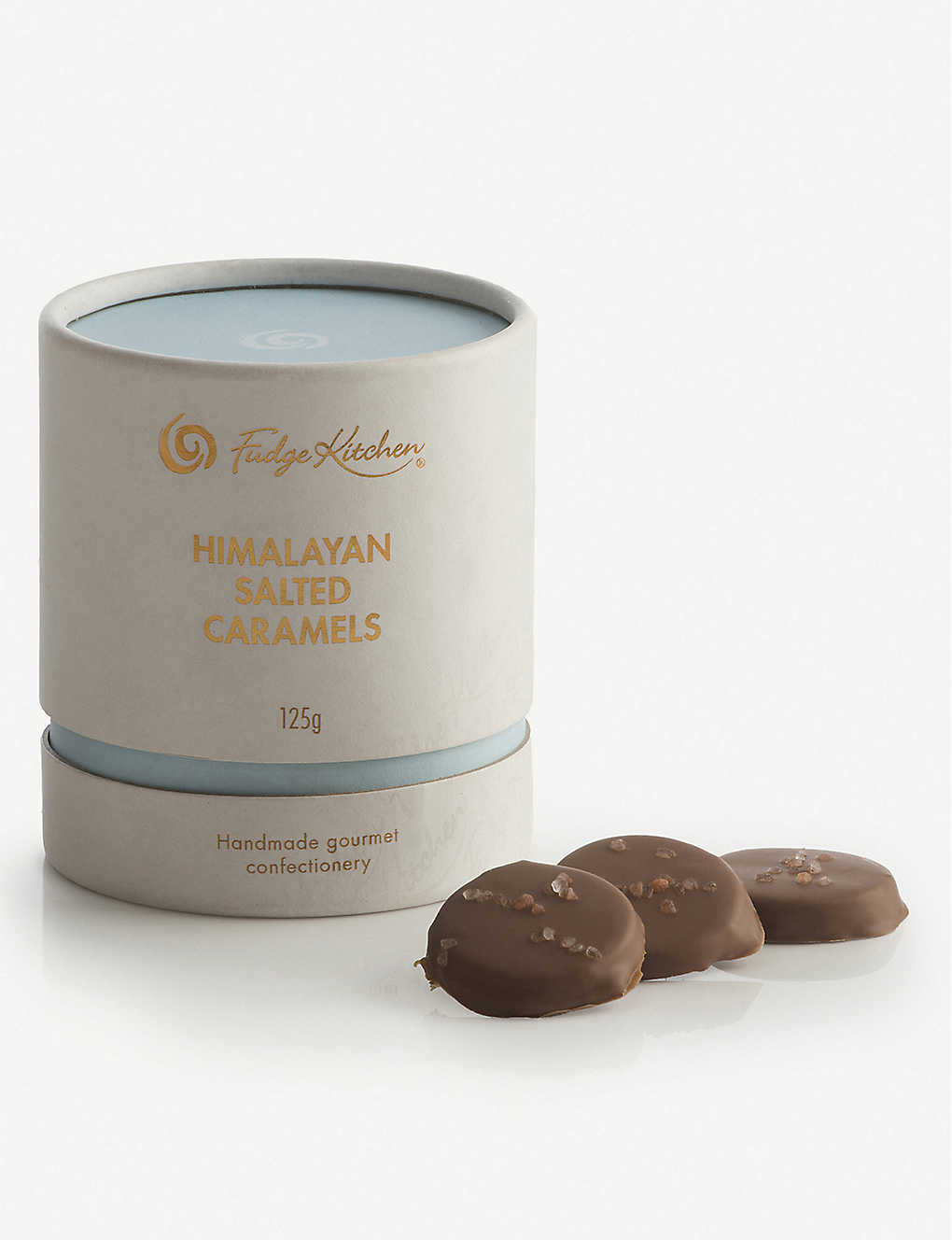 FUDGE KITCHEN: Milk chocolate salted caramels 125g