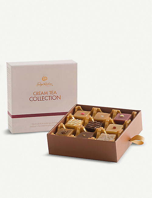 FUDGE KITCHEN Cream Tea fudge selection 195g