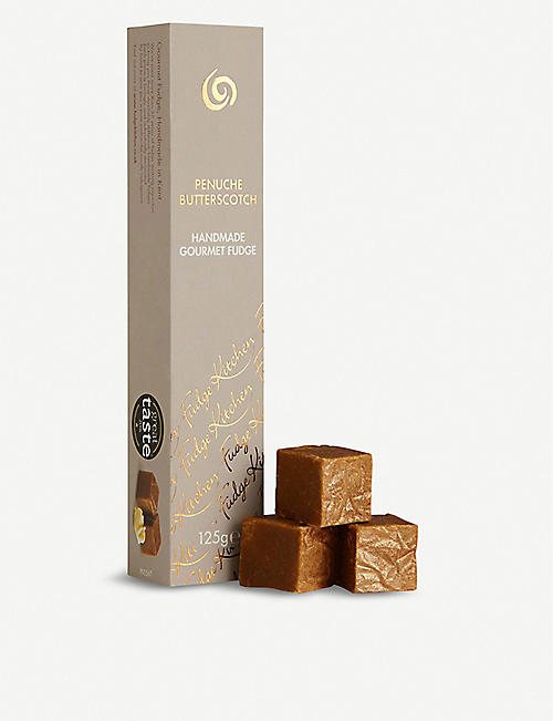 FUDGE KITCHEN: Golden butterscotch fudge slim box of 6 pieces
