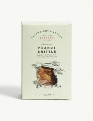 CARTWRIGHT & BUTLER Peanut brittle 150g