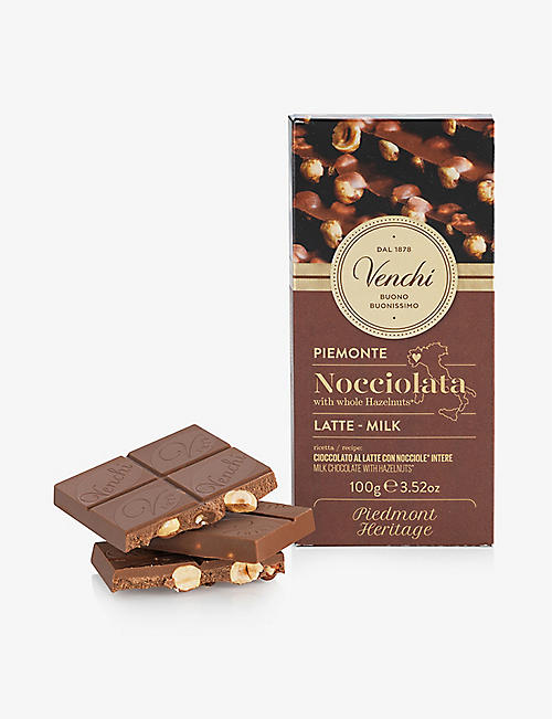 VENCHI: Milk chocolate with whole hazelnuts 150g
