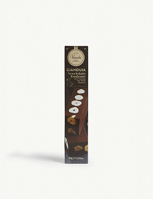 VENCHI Dark gianduja with whole hazelnuts 80g