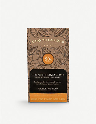 CHOCOLARDER: Cornish honeycomb milk chocolate 70g