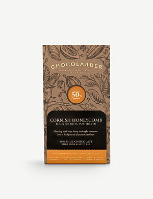 CHOCOLARDER Cornish honeycomb milk chocolate 70g