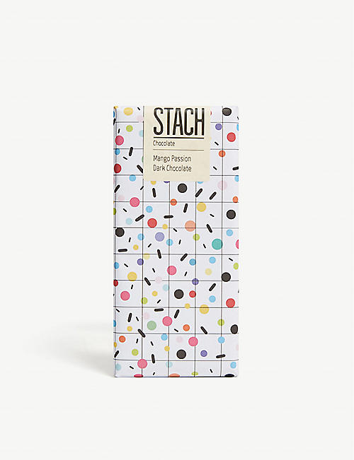 STACH: Mango passion dark chocolate bar 130g