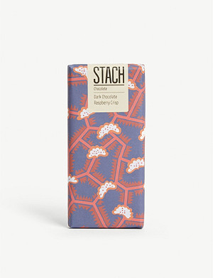 STACH Raspberry crisp dark chocolate bar 130g