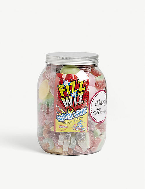 SWEETS IN THE CITY Fizzy Heaven giant jar 1035g