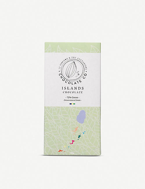 ISLANDS CHOCOLATE 72% Cocoa chocolate bar 80g
