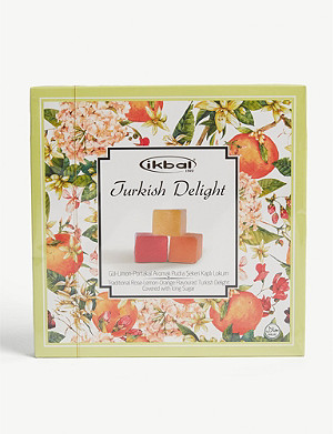 IKBAL Rose, lemon and orange turkish delight 400g